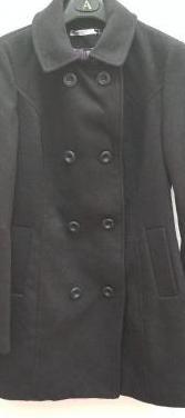 Abrigo paño de mujer stradivarius