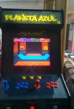 Bartop con juegos e los años 80
