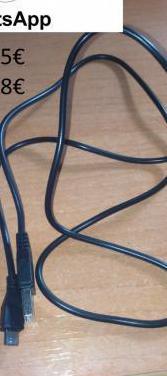 Cables carga mando ps3 y ps4 3metros