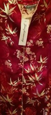 Camisa japonesa color rojo , nueva con etiquetas