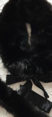 Cuello zorro negro