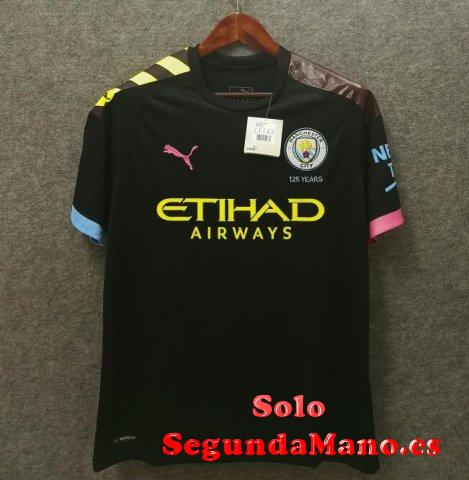 Camiseta manchester city segunda 2019-2020