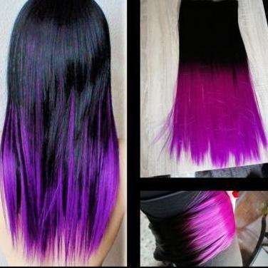 Cortina pelo pelo bicolor nueva