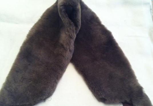 Cuello de piel para abrigo ó chaqueta