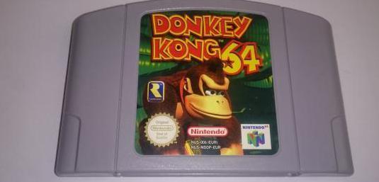 Donkey kong 64 ( nintendo 64 )