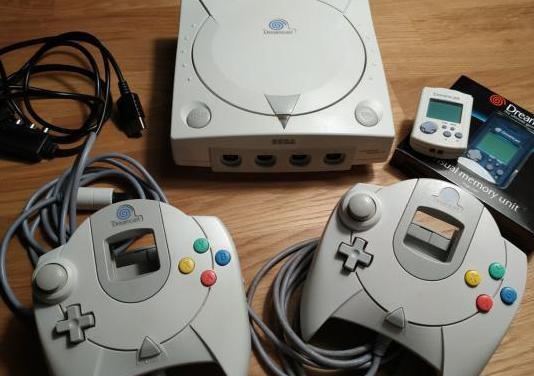 Dreamcast 2 mandos 2 vmu
