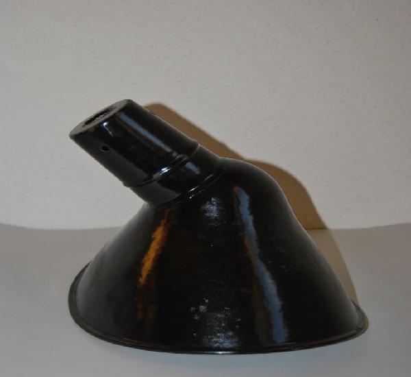 Foco de hierro esmaltado iep - aplique - lámpara i.e.p. -