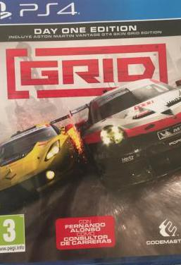 Grid day one edition playstation 4. ps4