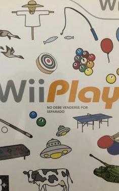 Juego wii play.nuevo a estrenar