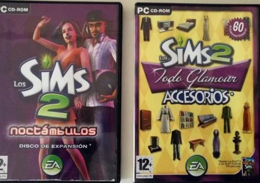 Los sims 2 noctámbulos y todo glamour