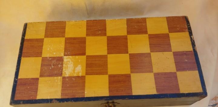 Magnifico ajedrez antiguo chino