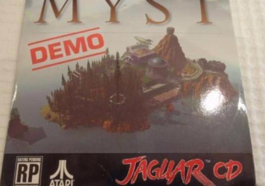 Myst (demo) (1995). jaguar cd