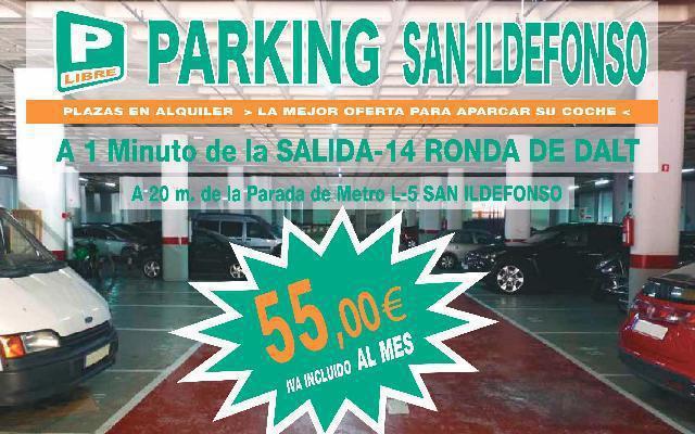 Oferta plazas de parking en alquiler - barcelona
