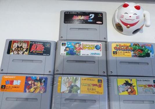 Pack juegos - supernes - ntsc - jpn - #01