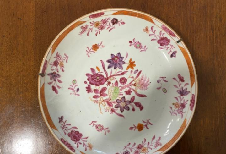 Plato hondo compañia de indias porcelana china
