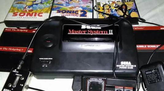 Sega master system 2 y 5 juegos
