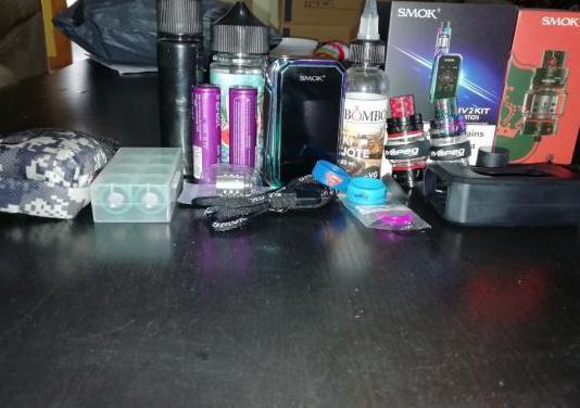 Vapeador, líquidos y accesorios