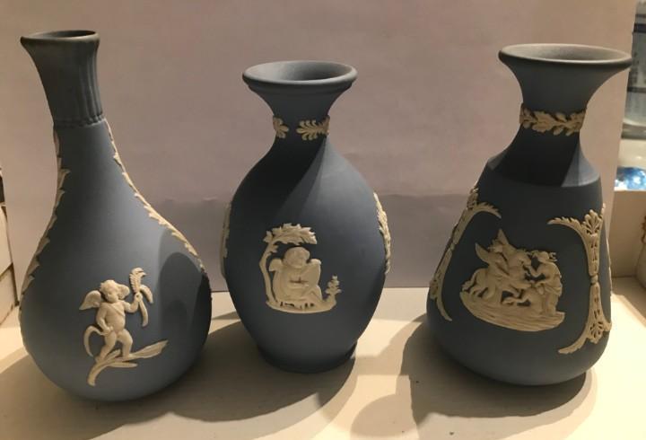 Varias piezas jasperware wedgwood
