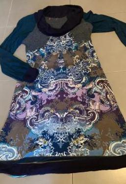 Vestido femenino de invierno
