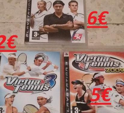 Colección virtua tennis 3 2009 top spin