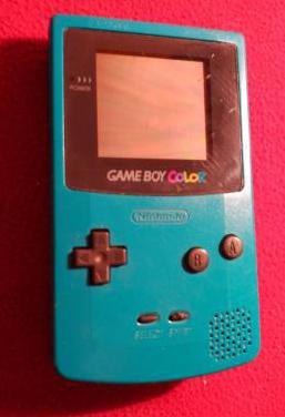 Consola game boy color turquesa