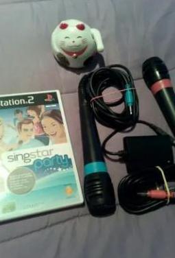 Pack singstar - ps2