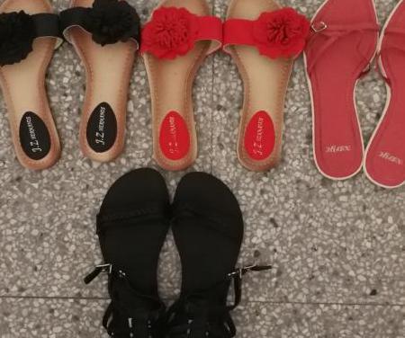Varias zapatillas