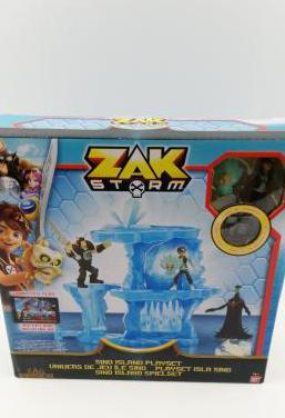 Zak storm sino island playset nuevo