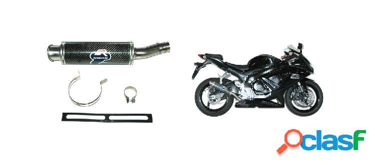 Escape suzuki --marca termignoni-- motos: gsx-r 600/750 (del 2008 al 2010) - 1 silenciador gp style