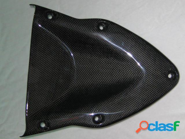 Cubierta de debajo del carenado superior para motos ducati. modelos hypermotard 1100/1100s. años 2007-2008.
