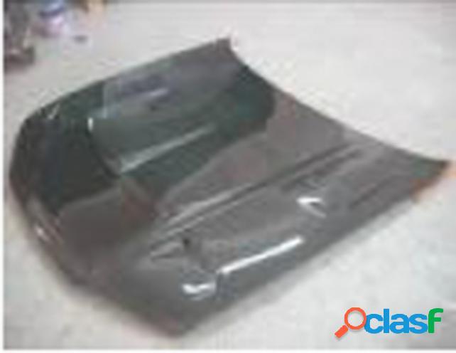 Capó t-style, carbono. coche nissan s14 1994.