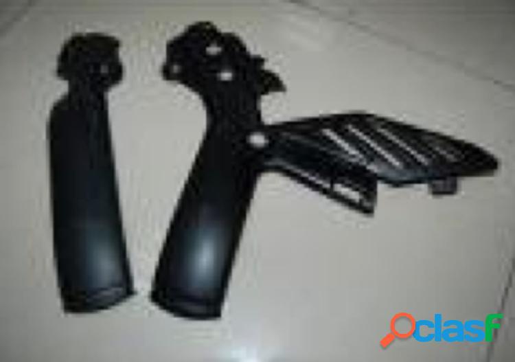 Marcos de fibra de carbono para los deslizadores. motos ktm husaberg 250 exc 330cc.
