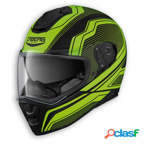 Casco drift flux de caberg. integral para moto. color mate negro / antracita
