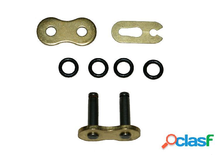 Conexión de links o anillo de oro supletoria de servicio pesado para moto 420xho primavera 5 piezas