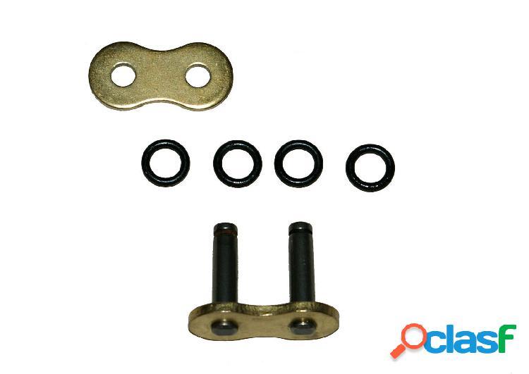 Conexión de links o anillo de oro supletoria de servicio pesado para moto 520xho remache de 5 piezas