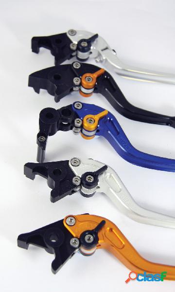 Palanca del embrague titax para moto ducati monster s4/s4r largo plata año 2007 en adelante
