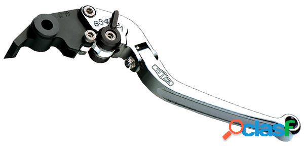 Plegable palanca del embrague titax para moto ducati monster s2rc largo plata año 2006-2008
