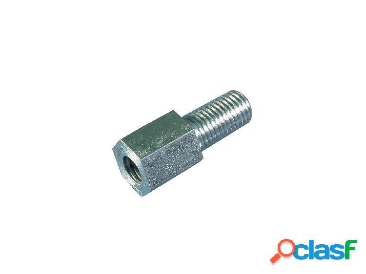 Espejo adaptadores: (kit de cromo permite rosca estándar de) (10 mm espejos para montarse en la yamaha) (mryadap10ch)
