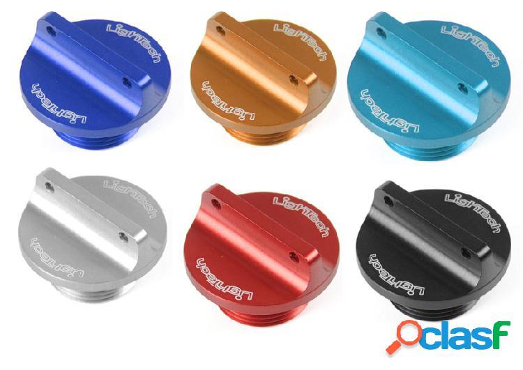 Tapon aceite (m 20 x 2,5) lightech (various color) para moto triumph triumph* (no speed 1050)