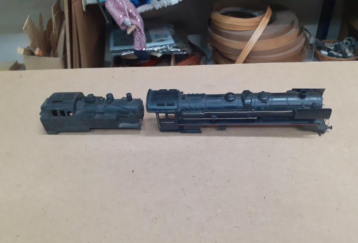 2 carcasas ho locomotoras vapor envio incluido