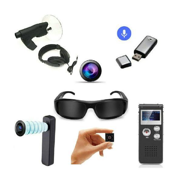 Artículos de espía nuevos, cámara, grabadora