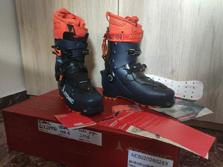 Atomic backland botas esquí de montaña/travesía
