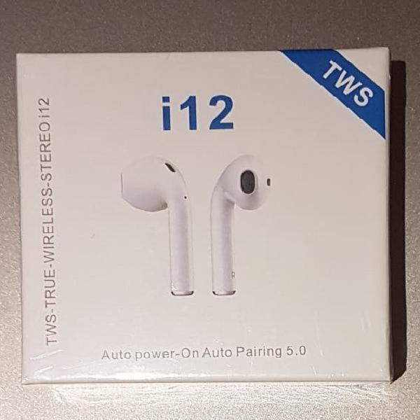 Auriculares tws i12 nuevos