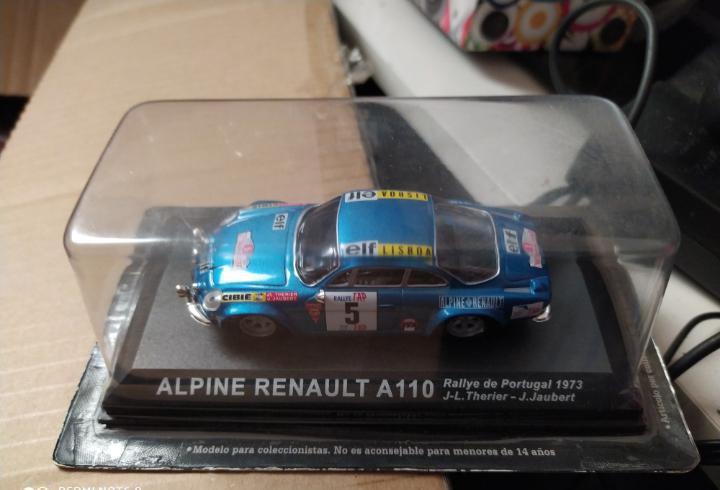 Blister precintado coche alpine renault a 110 rally rallye