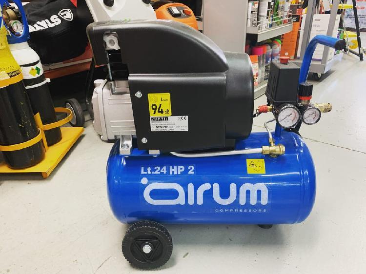 Compresor aceite 24 litros