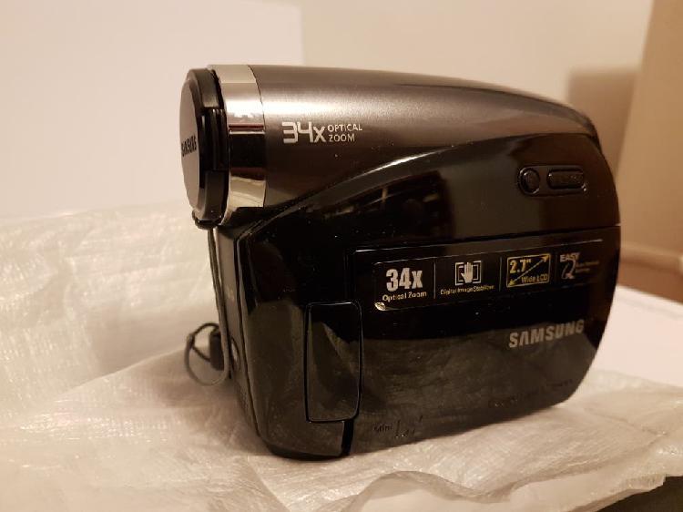 Camara de video digital samsung 34 optical zoom