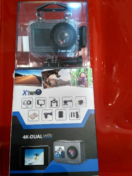Cámara ultra hd 4k wi-fi-dual selfie