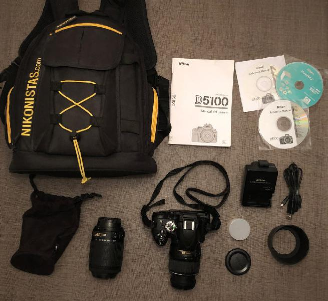 Cámara de fotos nikon d5100