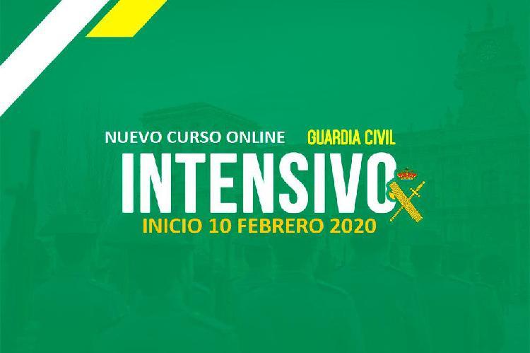 Curso online guardia civil 2020