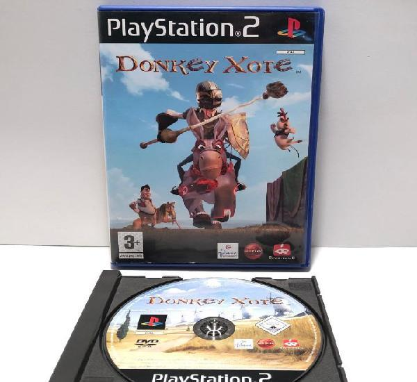 Donkey xote playstation 2 ps2